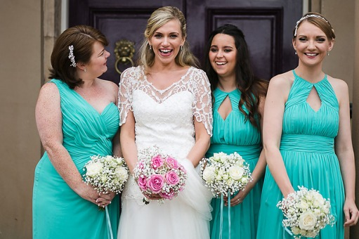 Shona and her bridesmaids