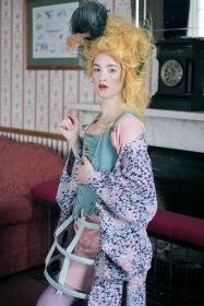 Alba, 'Caged bird' Publication , Photo Agata Designer Mairi Brown